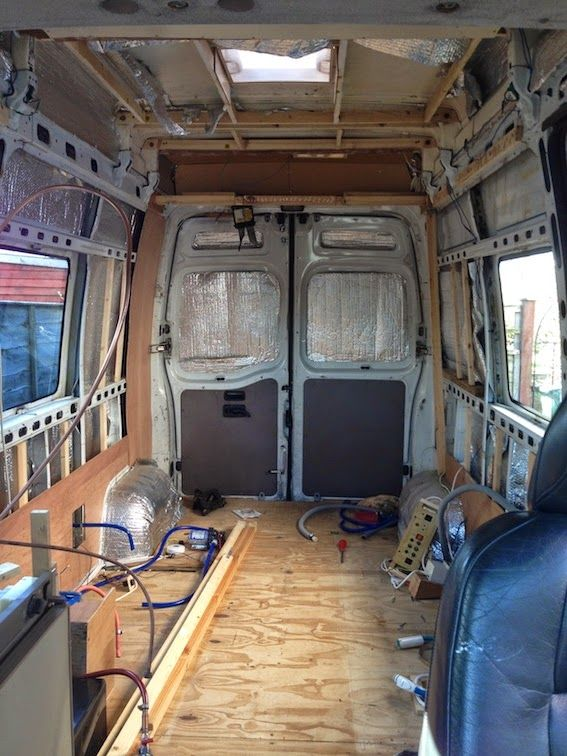 How It All Began After Removing The Existing Interior