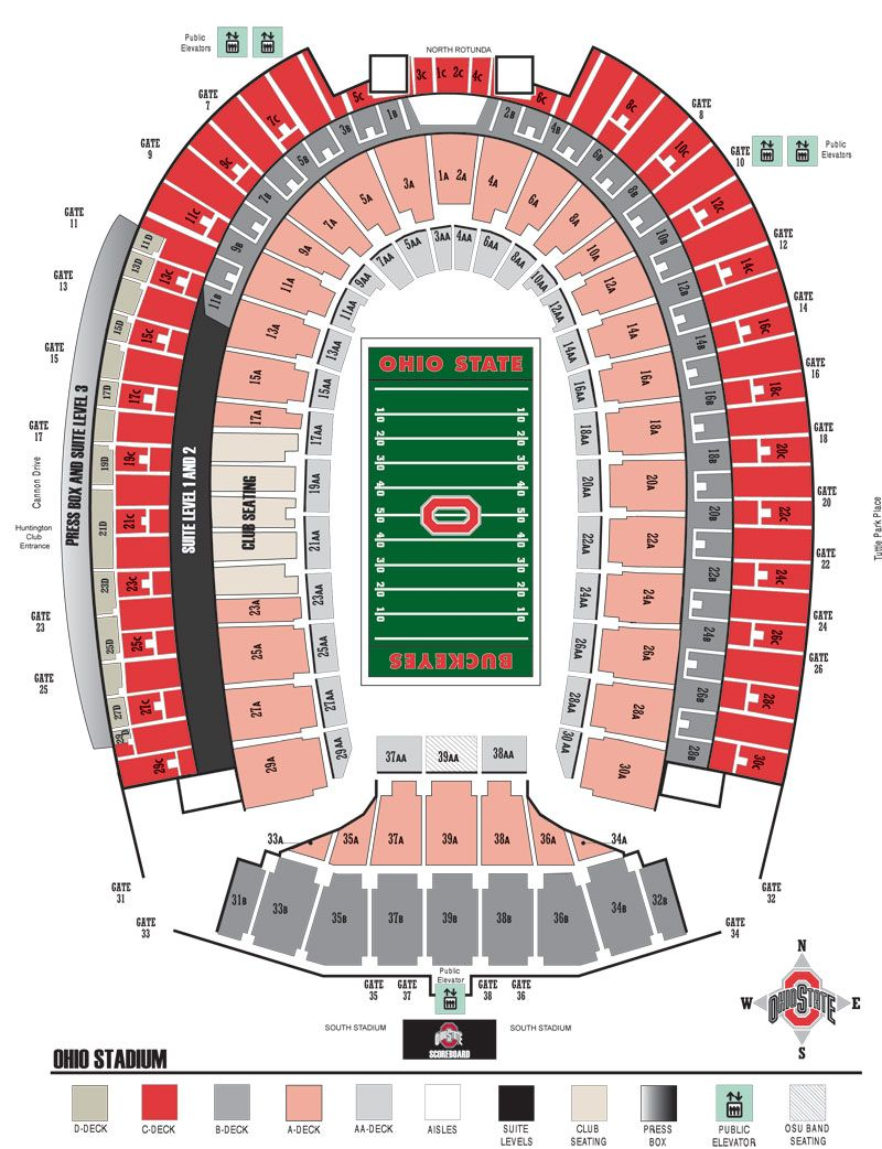 Ohio State Buckeyes Official Athletic Site Tickets Ohio State Stadium Ohio State Buckeyes Football Ohio State