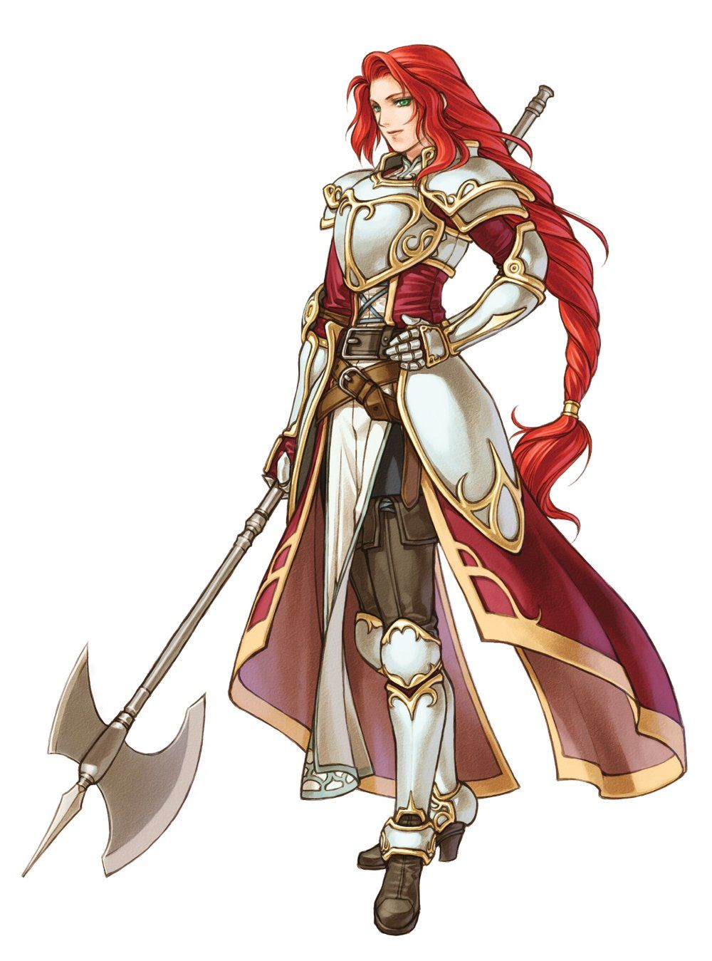 Titania Fire Emblem Female Armor Female Knight Fantasy Armor