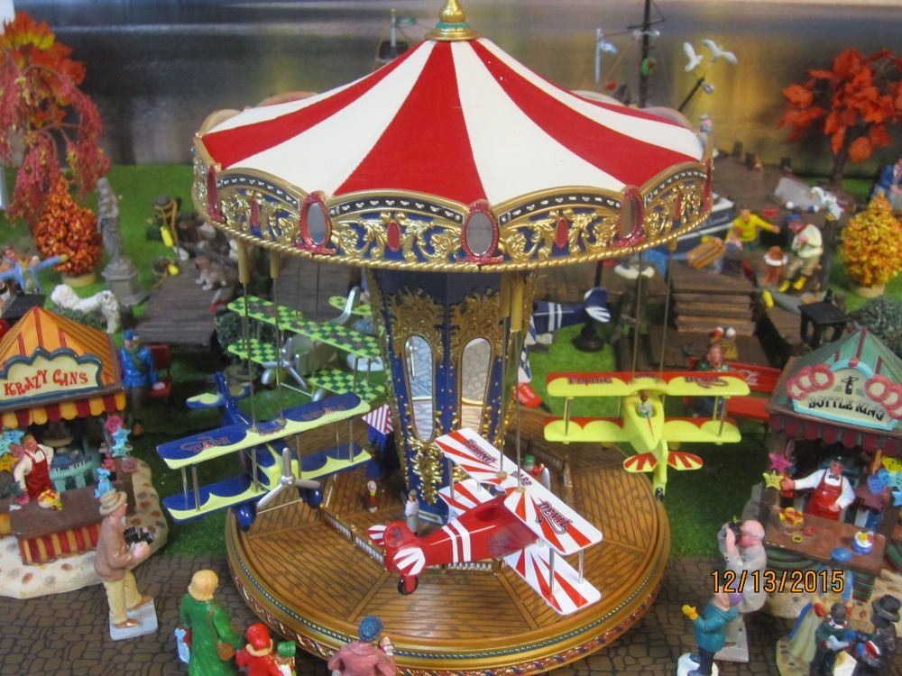 Train Garden Village House New Quot The Carnival Airplane