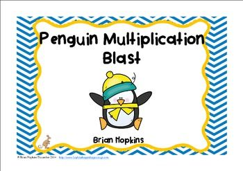 Penguin Multiplication Blast | Multiplication, Small ...