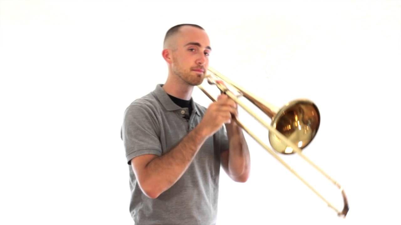 Trombone Lesson 7 First Five Notes F E Flat D C B Flat Trombone Lessons Beginner Trombone Trombone