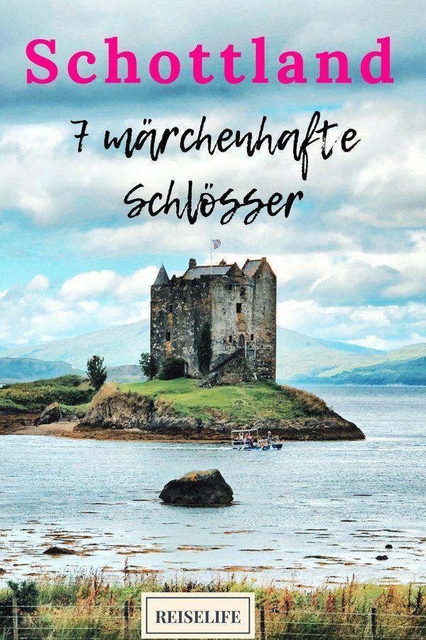 Schottland Schlösser - 7 märchenhafte Castles #travelscotland