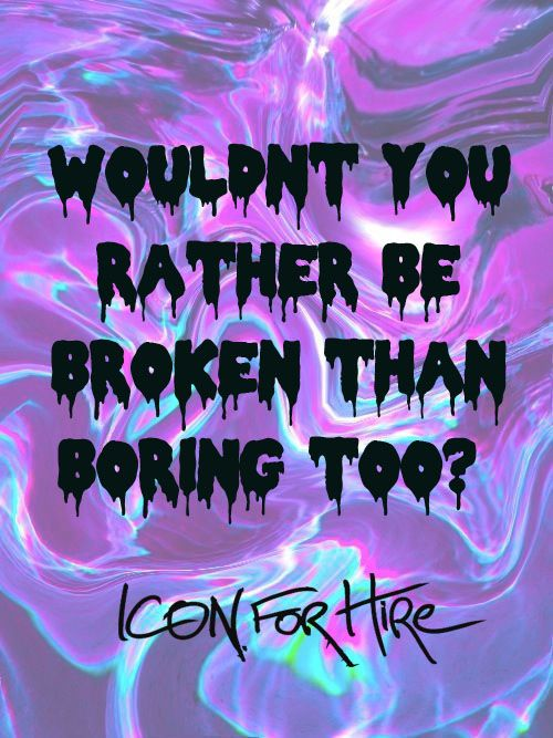 Icon For Hire Sugar And Spice Stuff Ive Made Lyrics Music