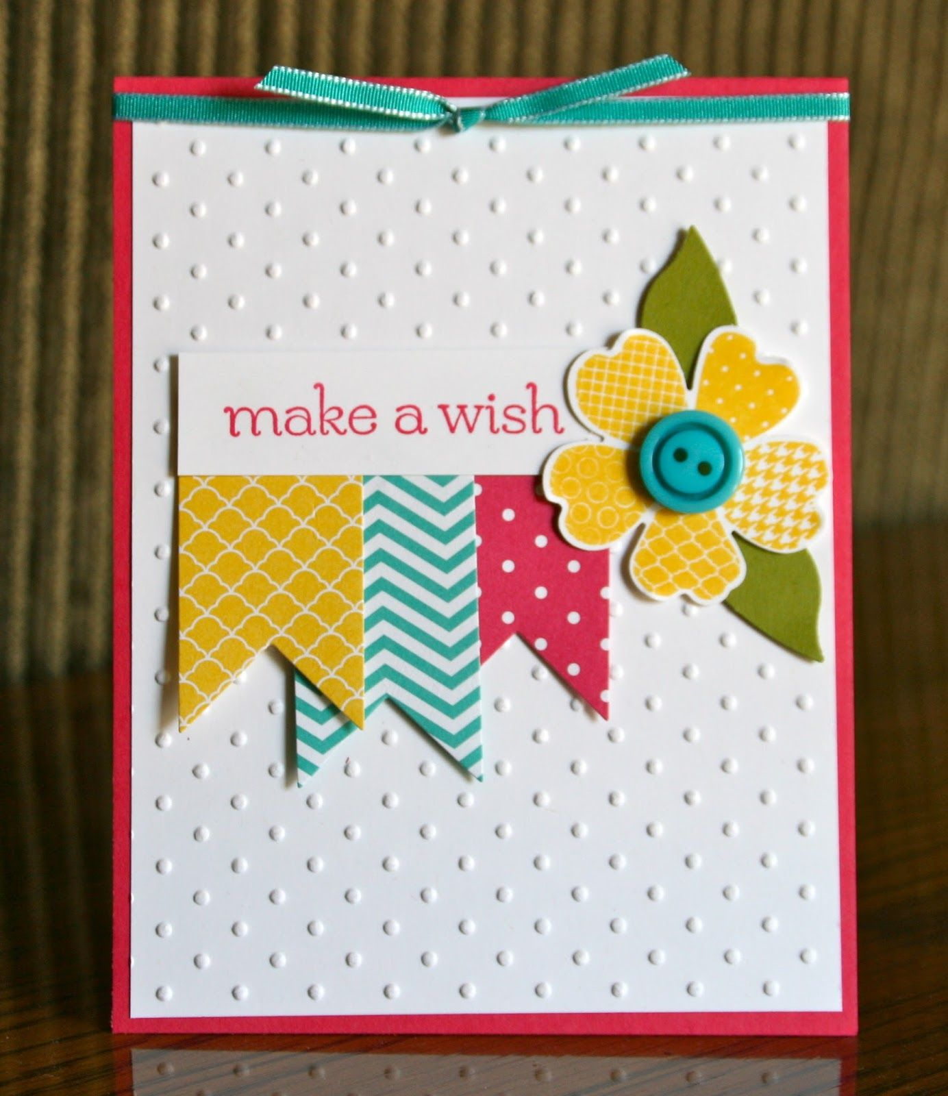 stampin up flower
