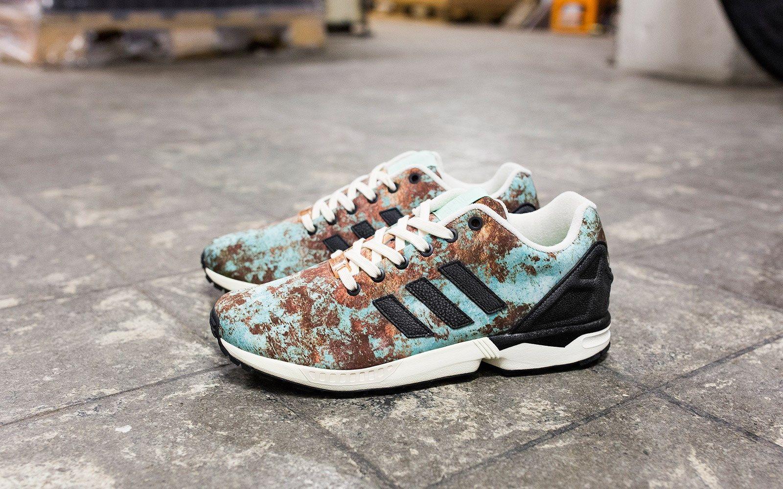 adidas zx flux x sneakersnstuff