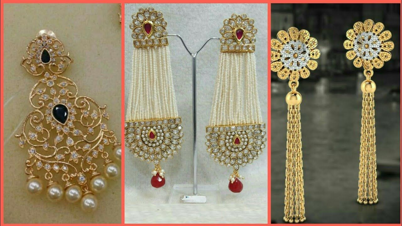 Latest 1 Gram Gold Earrings Designs Collection 2018 Https Youtu Be