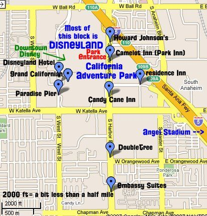 Map Of Disneyland Hotels Tips
