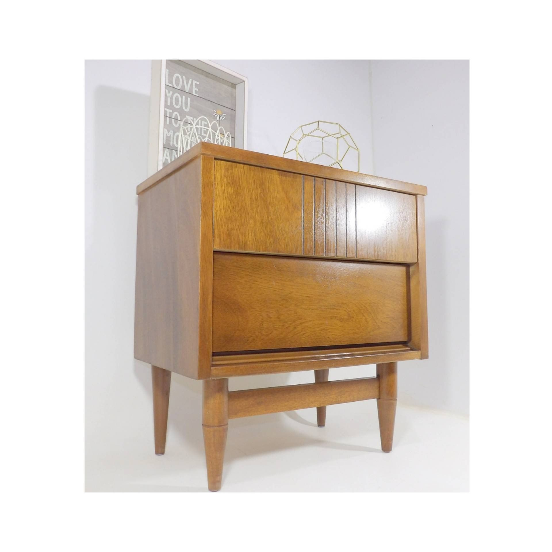 Excited To Share The Latest Addition To My Etsy Shop Mid Century Moder Mid Century Modern Nightstand Modern