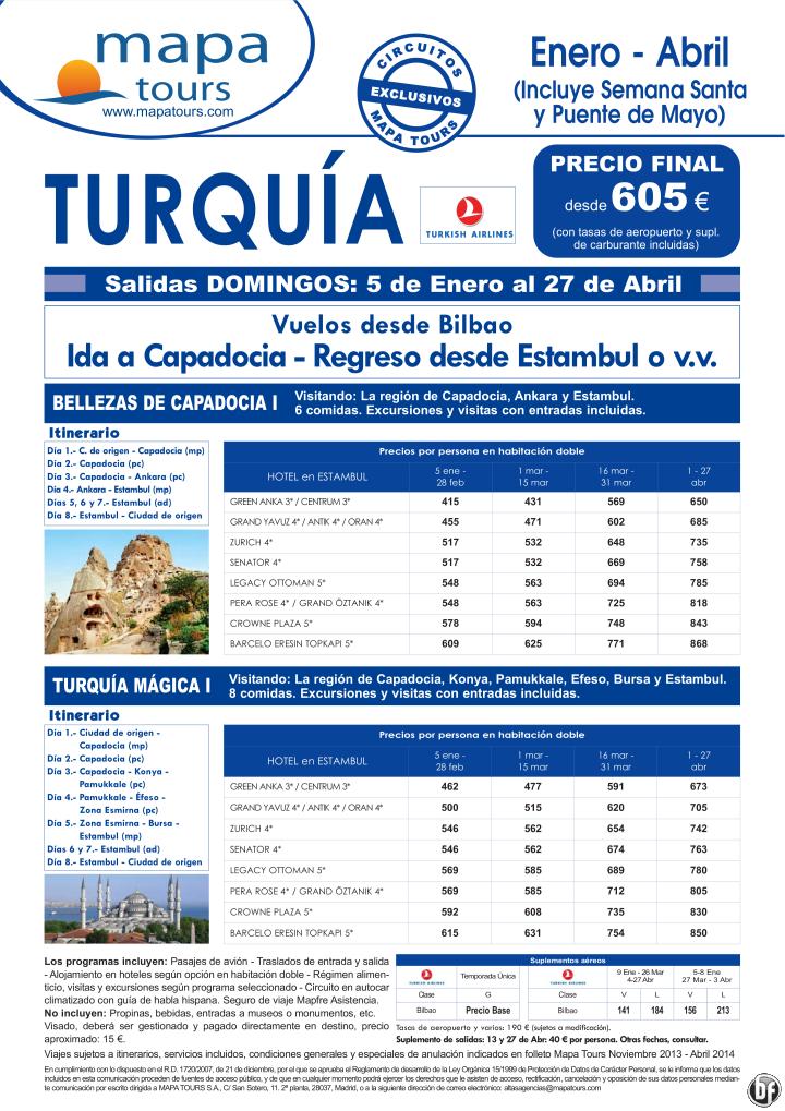 Turquia Bellezas de Capadocia I desde Bilbao **Precio Final desde 605** ultimo minuto - http://zocotours.com/turquia-bellezas-de-capadocia-i-desde-bilbao-precio-final-desde-605-ultimo-minuto/