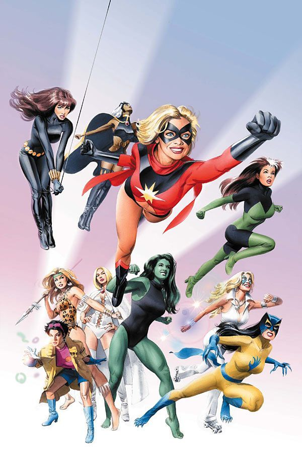 Women of Marvel by Mike Mayhew.