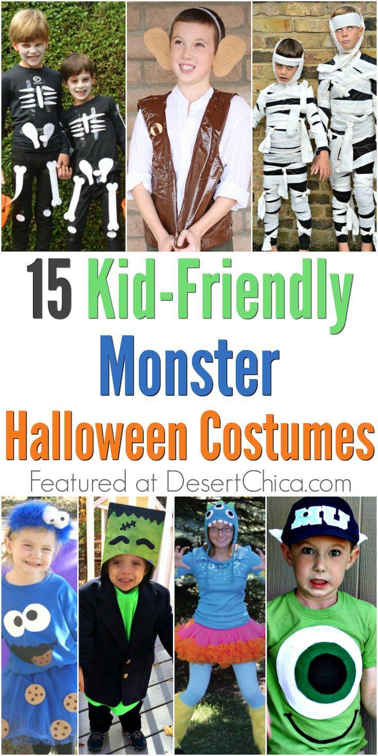 Kid,Friendly Monster Costumes