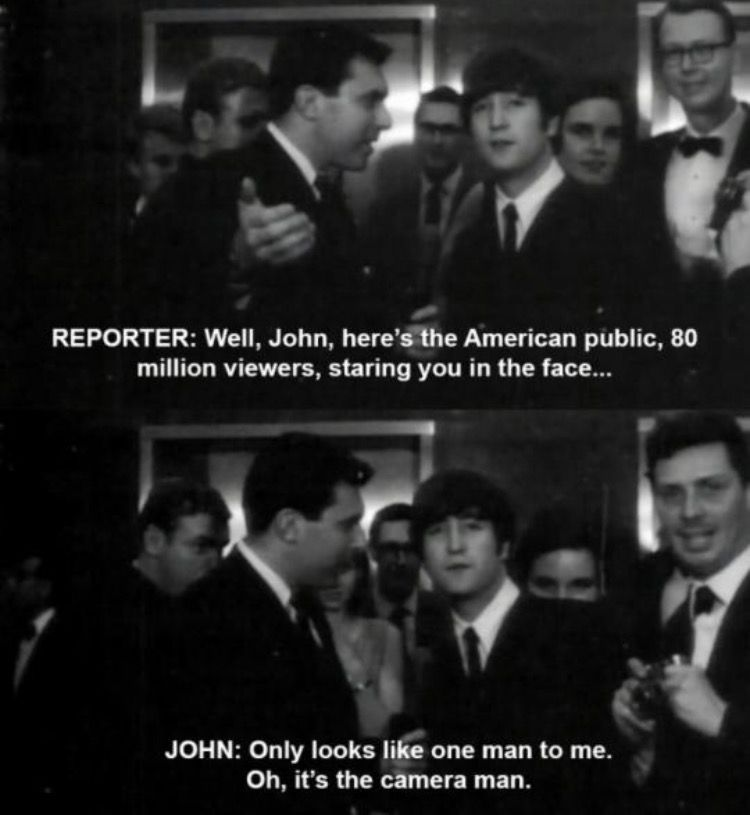 Pin by UURL on Scenes Beatles funny, Beatles quotes, The