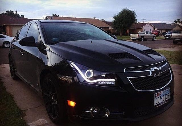Blacked Out Chevy Cruze Chevy Cruze Pinterest Chevy Cars