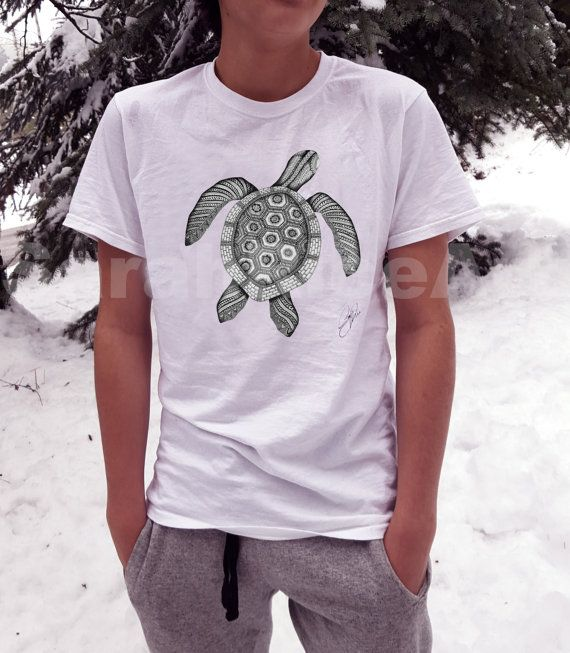 turtle Shirt/turtle T shirt men/turtle t-shirt/tee shirts men /turtle /White Shirt men/White turtle Shirt/graphic tee/white shirt