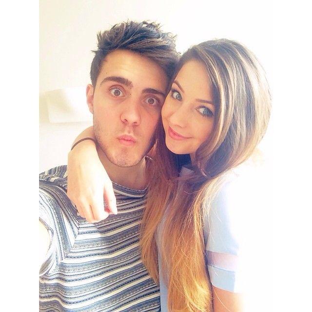 Zoe Sugg aka Zoella and her boyfriend Alfie Deyes aka ...