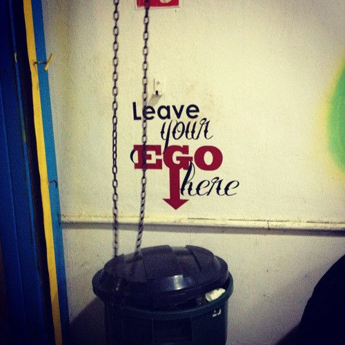 Garage gyms - leave your ego here, please