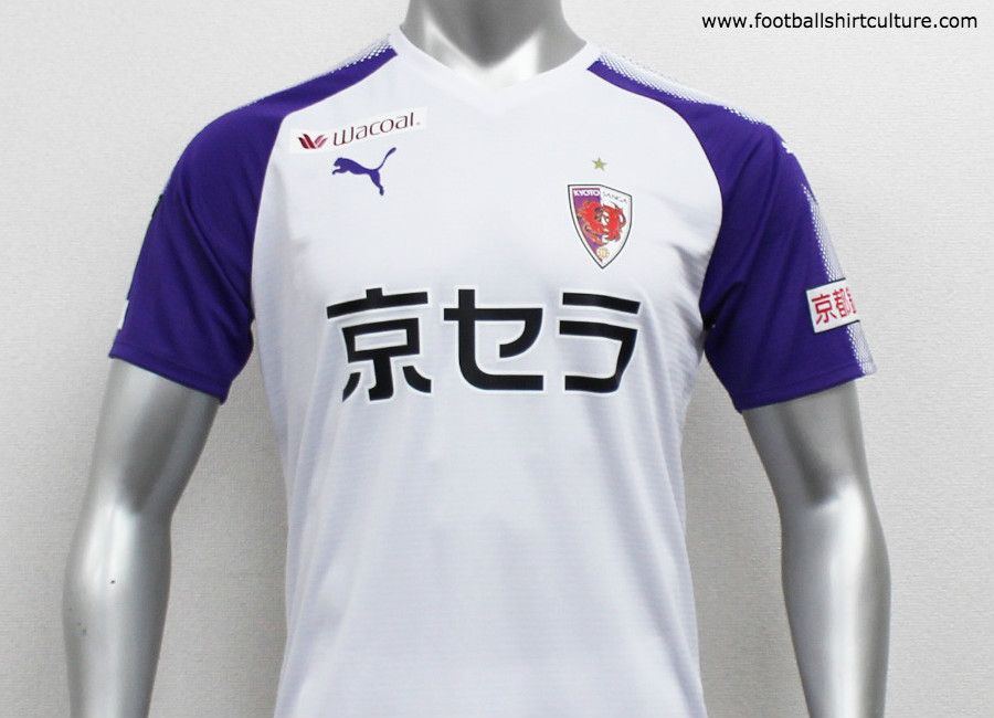 5d7061ee03f This is the new Kyoto Sanga 2019 away football shirt by Puma. The new Away  kit will be used during the 2019 Meiji Yasuda J2 League season.