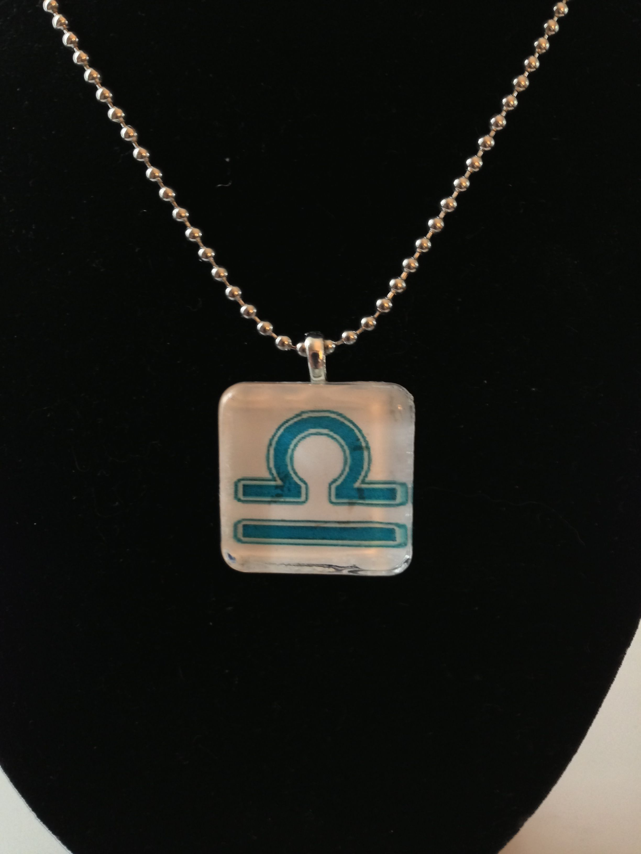 Libra zodiac sign necklace made to order facebook