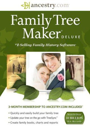 family tree maker deluxe download family tree maker pinterest