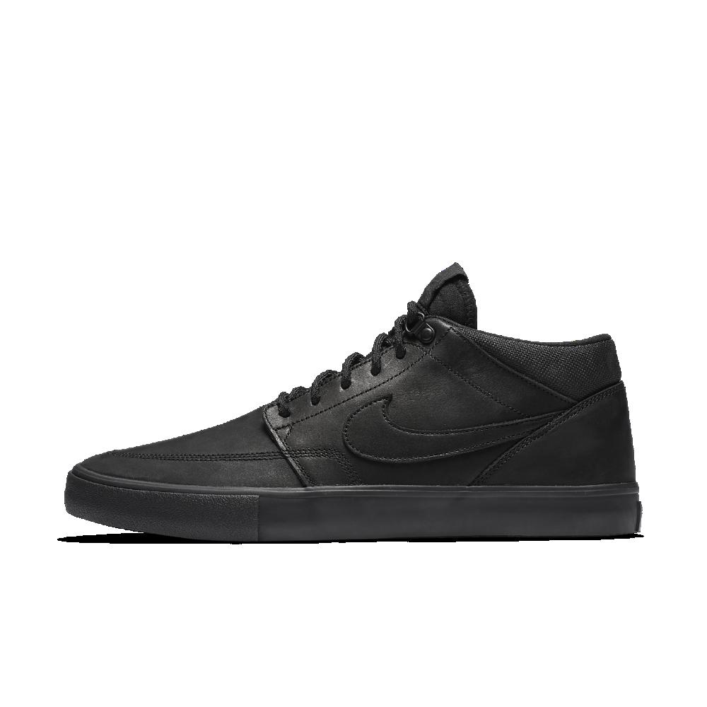 new product 735d4 ff6d7 Nike SB Solarsoft Portmore II Mid Premium Men s Skateboarding Shoe Size