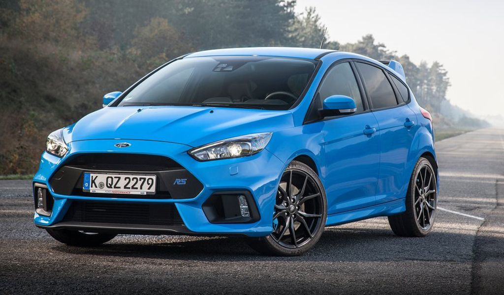 The Company Actually Showed The Next Generation Ford Focus Rs The
