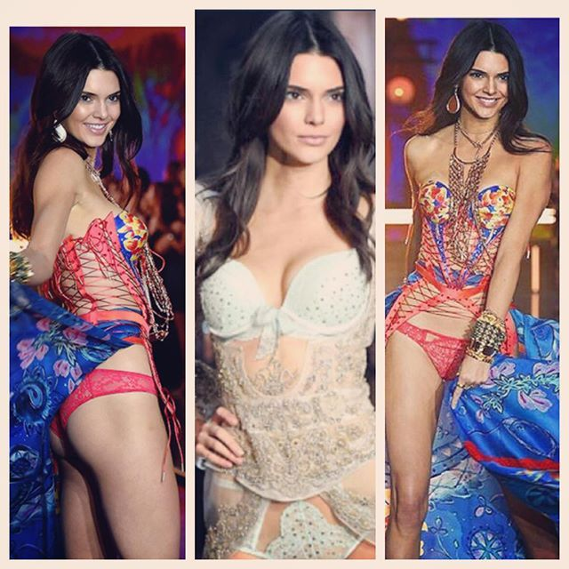 WOW @kendalljenner you look just incredible at #vsfashionshow2015  so beyond happy for you!!!! ❤️ #kendalljenner #vsfashionshow