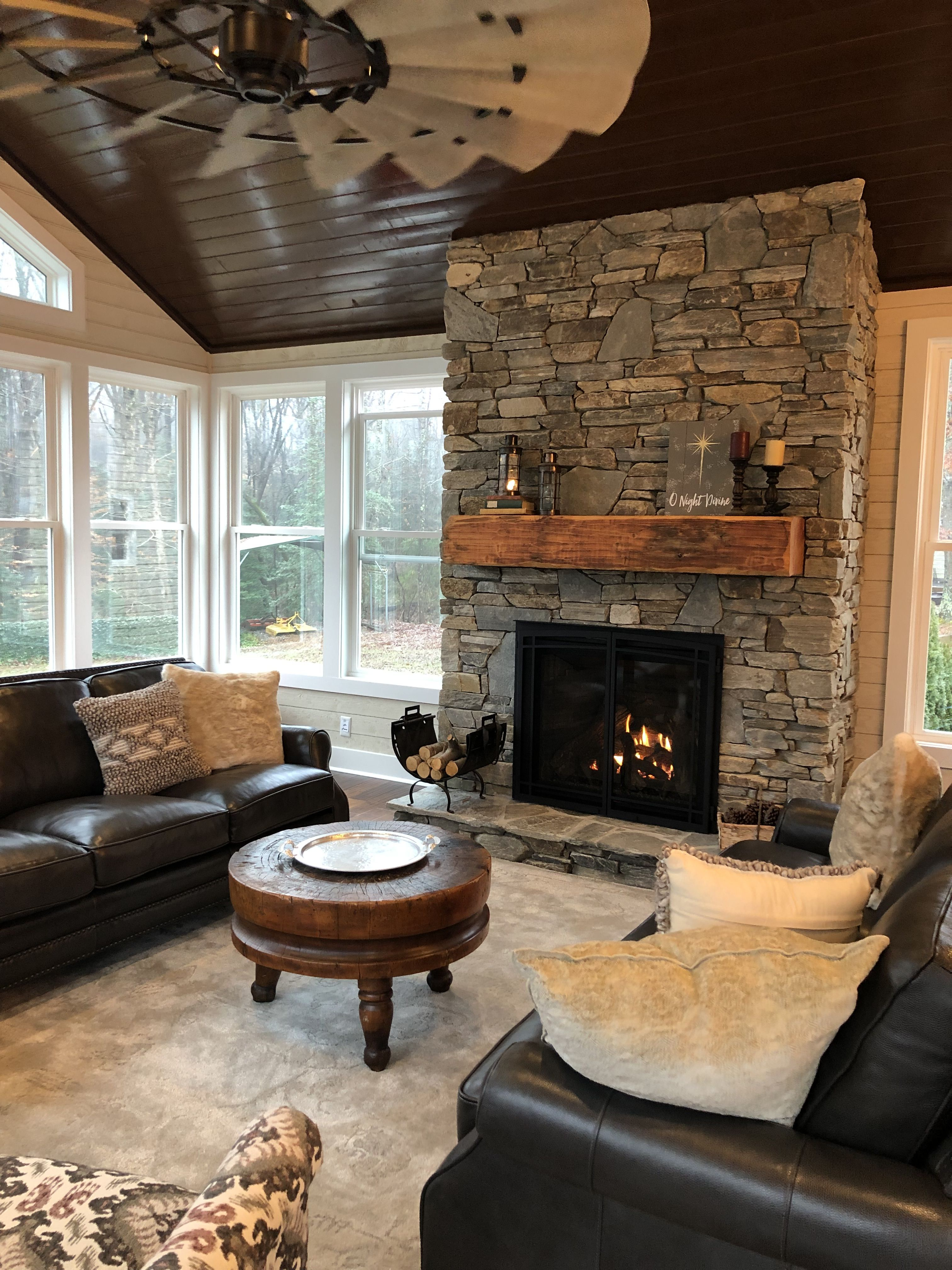 If This Isn T A Pinterest Worthy Shot I Dont Know What Is The Custom Made Hand Finished Floating Chu Rustic Farmhouse Style Custom Fireplace Mantels Fireplace