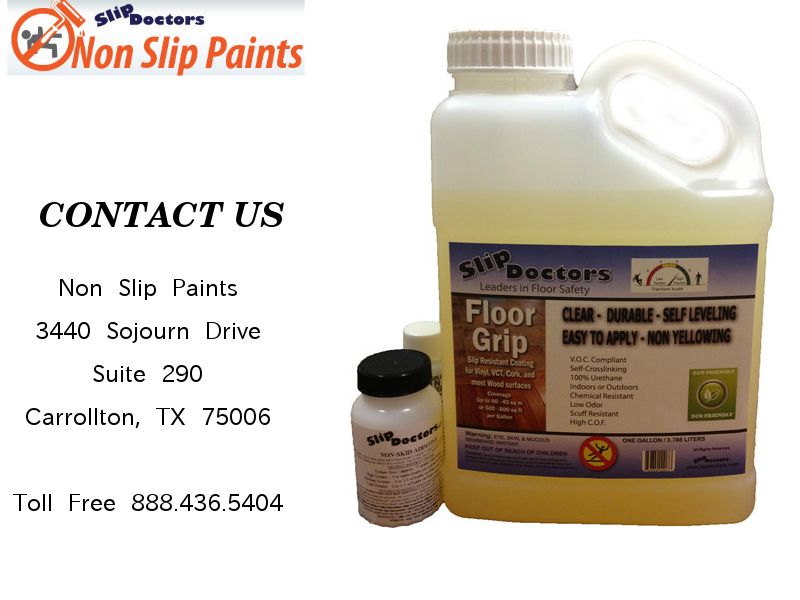 Our Exclusive Floor Grip Is A Clear Water Based Urethane Sealer It Is Designed For Applications On All Interior Wood Non Slip Paint House Flooring Flooring