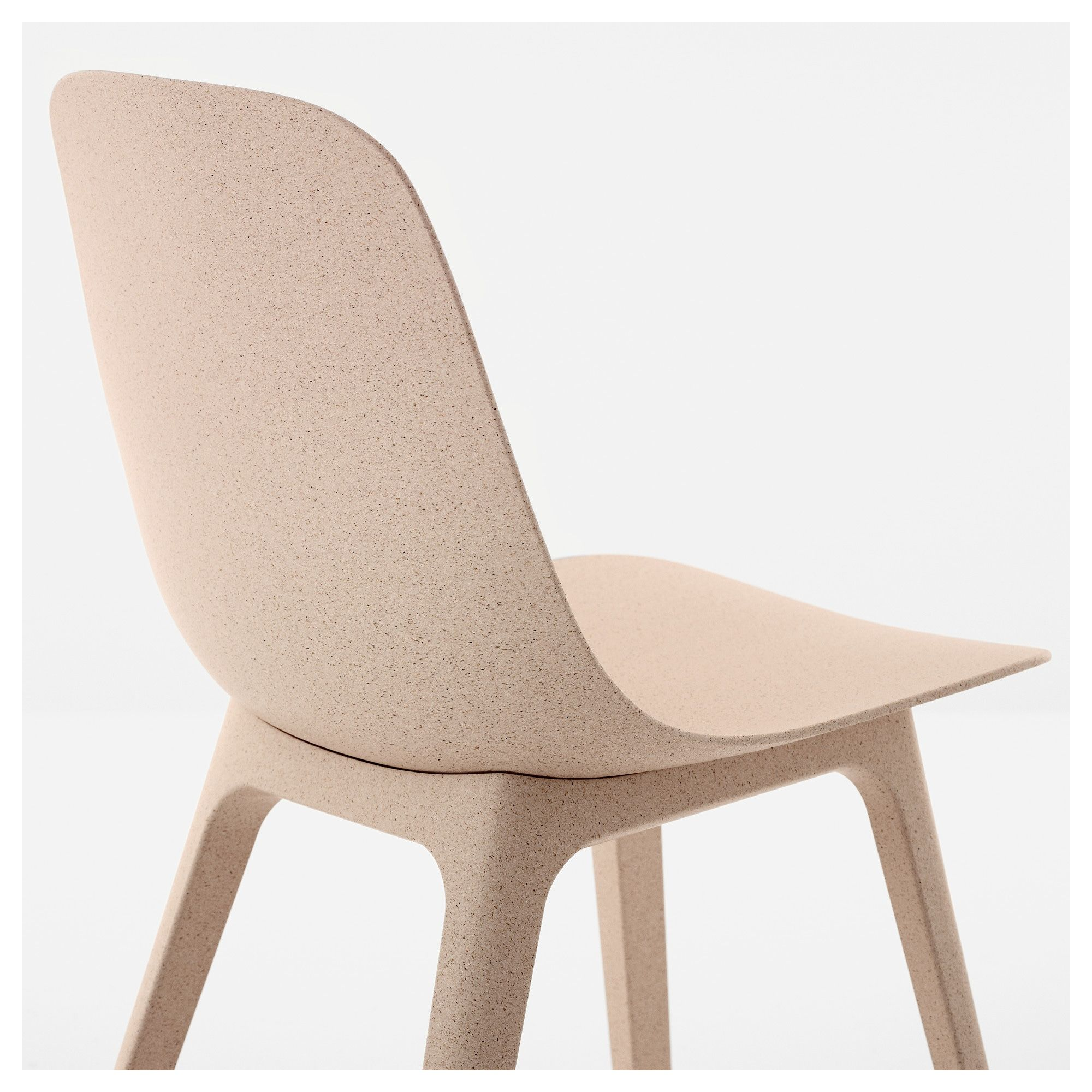 ODGER Chair white, beige Ikea chair, Chair, Beach