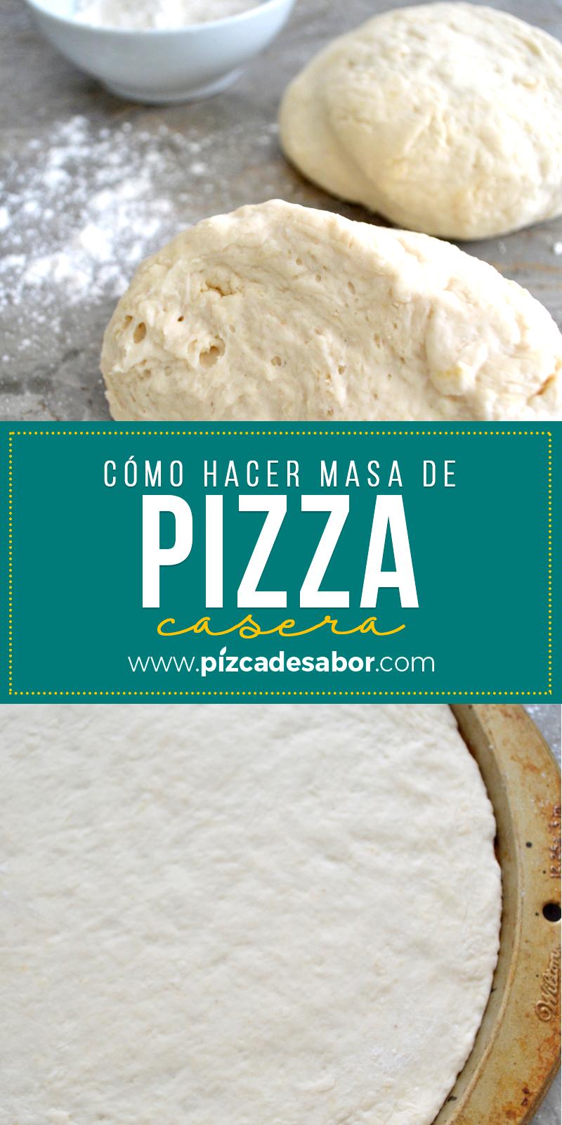 Pin En Recetas Pizza