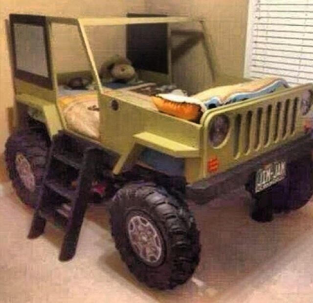 Best My Babies Will Have This Jeep Cj5 Bed Diy Kids Bed 400 x 300