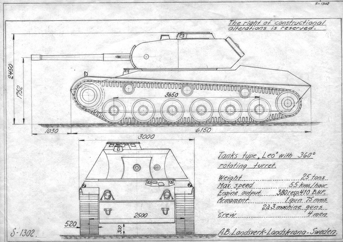 Landsverk Leo World Of Tanks Tank Leo