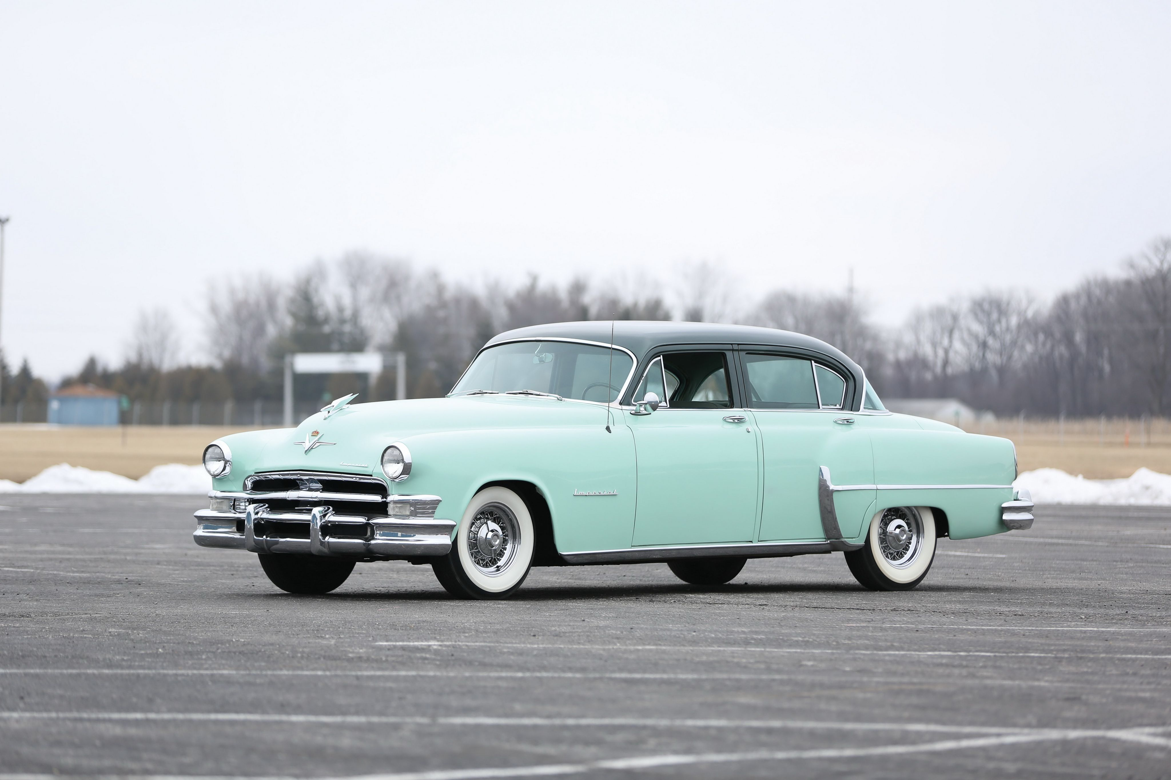 1953 Chrysler Custom Imperial 4-door Sedan (C-58) | Automobile ...