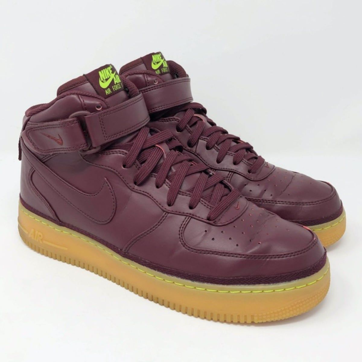 Air Force 1 07 Mid LV8 Night Maroon