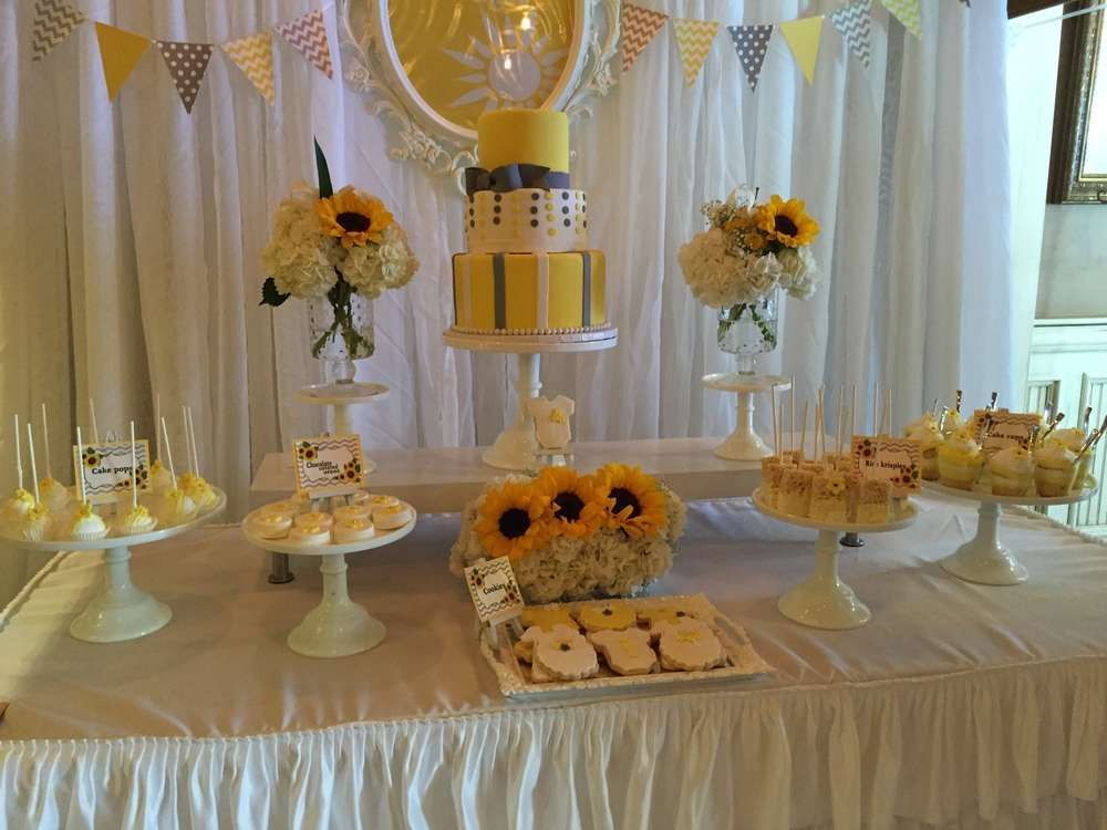 you are my sunshine Baby Shower Party Ideas Photo 6 of