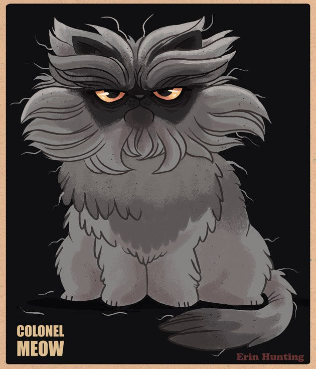 colonel meow. love this!