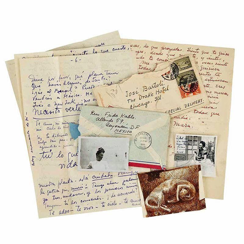Pin by Kim Thompson on Frida Pinterest - sample love letter