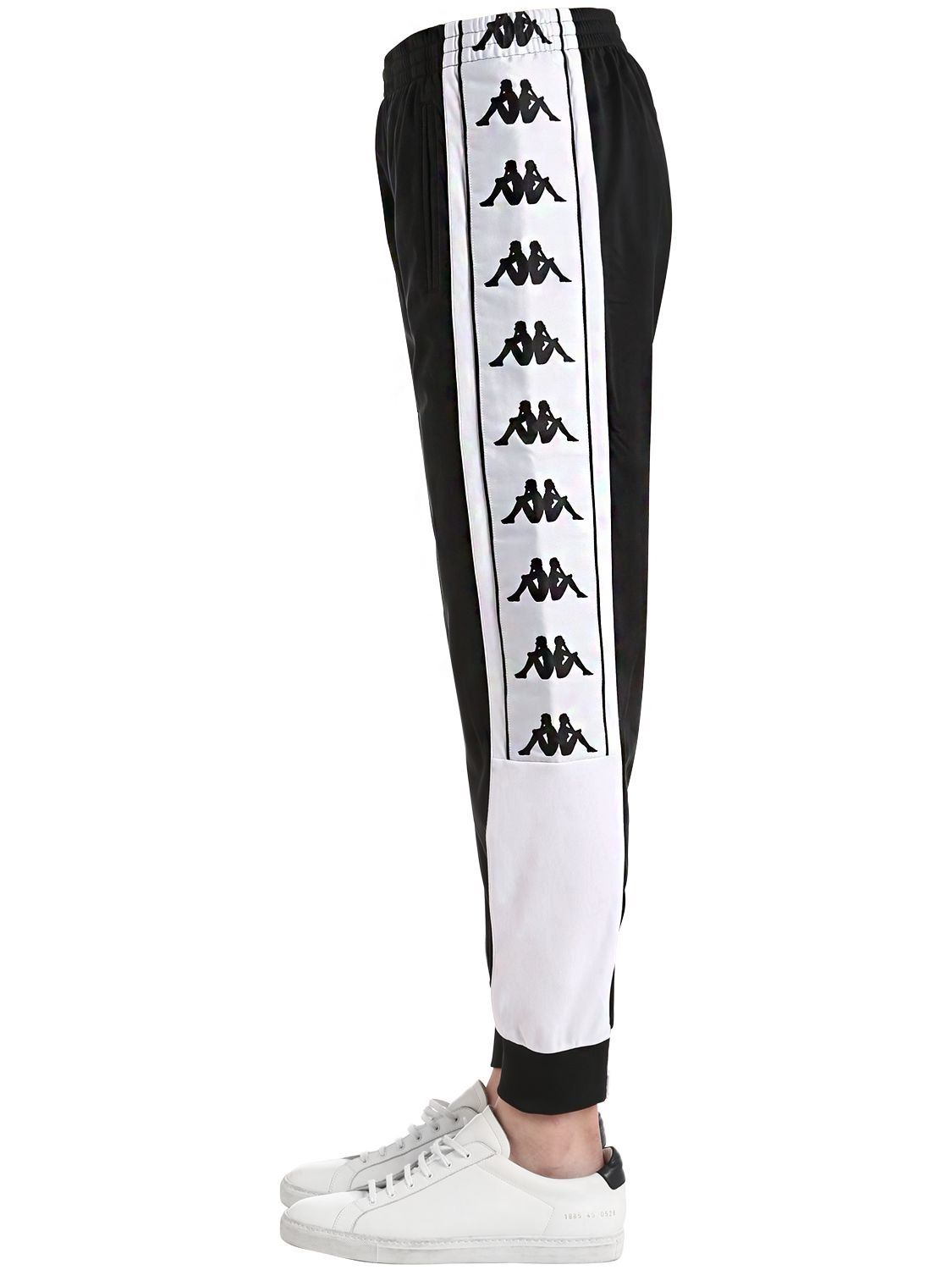 3f17667002 KAPPA TWO TONE LOGO TAPE TRICOT TRACK PANTS. #kappa #cloth # | Kappa ...