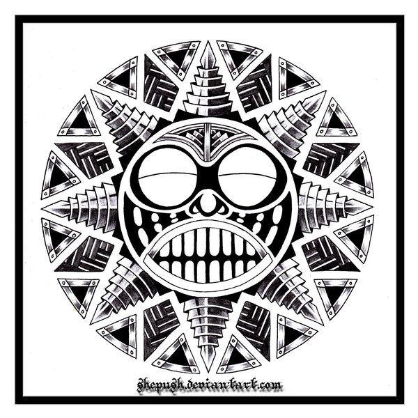 Tattoo Sun Maori: ..:SuN:.. By Shepush.deviantart.com On @deviantART