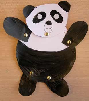 Le panda cole maternelle chine pinterest - Coloriage panda maternelle ...