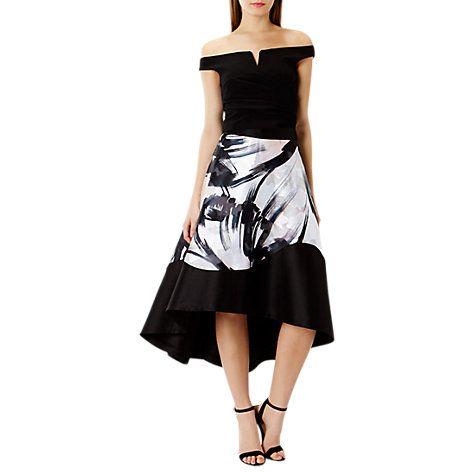 Buy Coast Waldorf Print Skirt, Multi Online at johnlewis.com
