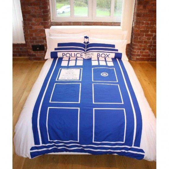 Parure De Lit Double Tardis Doctor Who Tardis