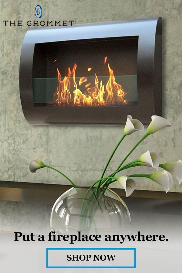 Chelsea Wall Mount Indoor Fireplace In 2020 Indoor Fireplace Fireplace Wall Mounted Fireplace