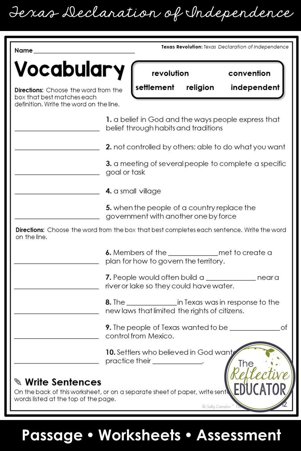 Declaration Of Independence Worksheet Pin On Social Stu S Worksheets In 2020 Social Studies Worksheets Social Studies Social Studies Elementary