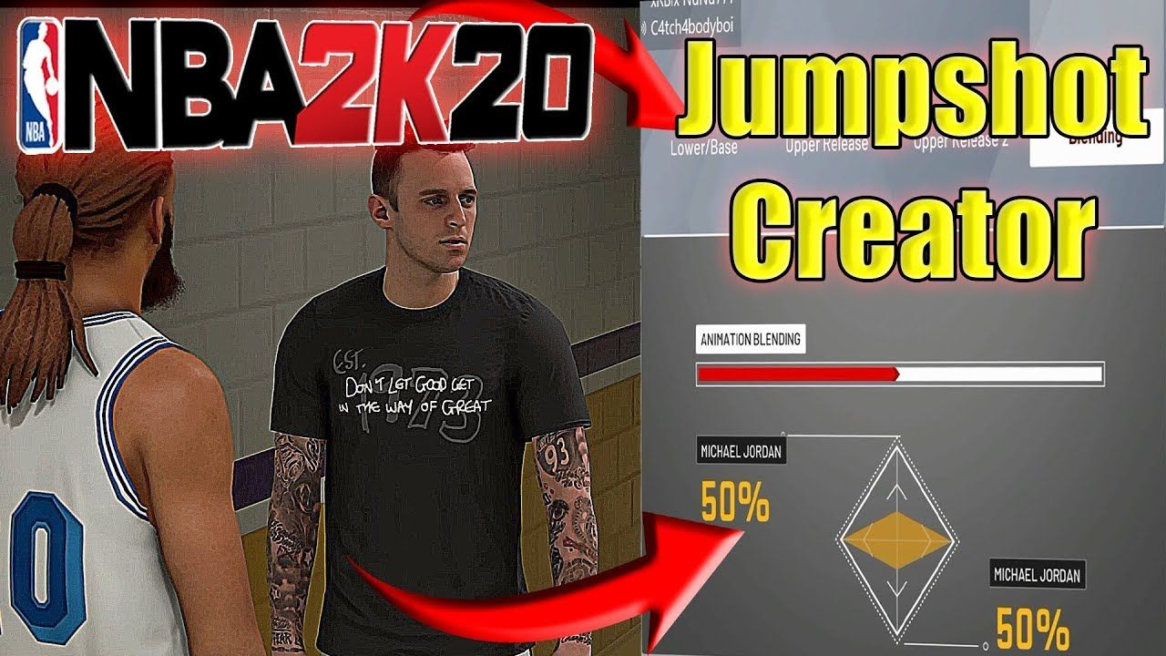 How To Get The Jump Shot Creator In 2k17