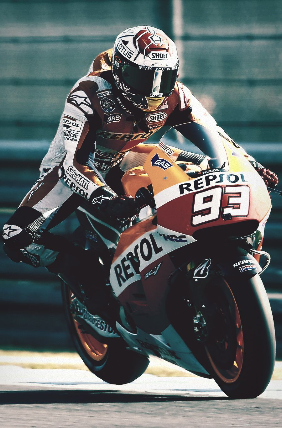 Marc Marquez 93 With Images Marc Marquez Motorcycle Racing Bikes