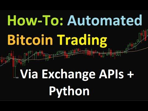 Automated bitcoin trading software