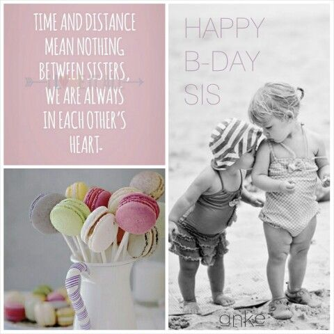 Happy Birthday To My Sweet Sister Happy Birthday Sis