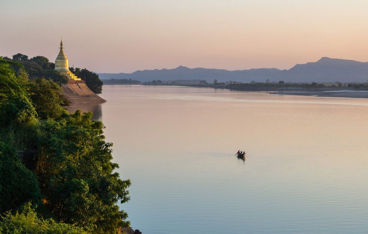 Les rivières birmanes, Birmanie